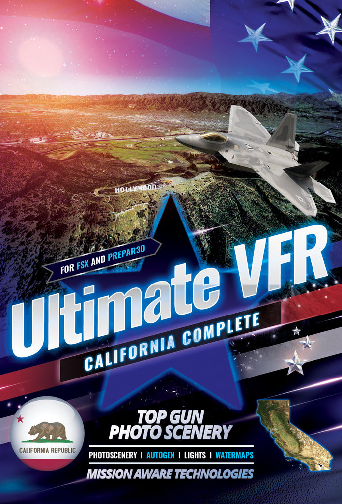 Ultimate VFR™ California - State 5.0