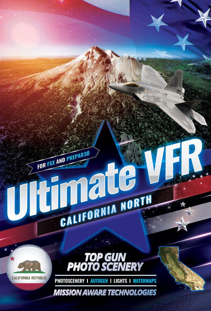 Ultimate VFR™ California - North 5.0