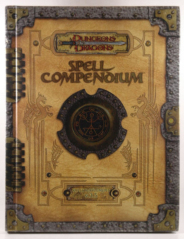 Premium 3.5 Edition Dungeons & Dragons Spell Compendium (D&D Accessory), by Wizards RPG Team
