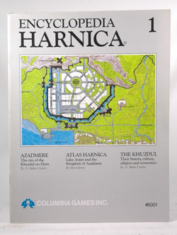 Encyclopedia Harnica 1 (Harn Fantasy RPG Setting), by Crossby, N. Robin