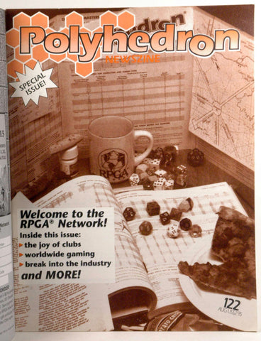 Polyhedron Newszine 122 August 1996, by