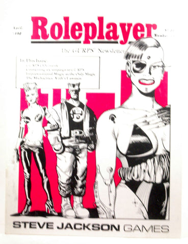 Roleplayer GURPS Newsletter #19 April 1990, by