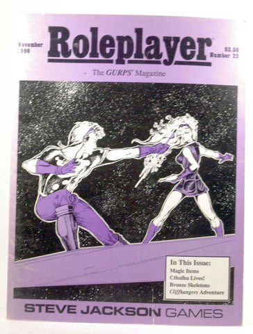 Roleplayer The Gurps Magazine #22 November 22, by