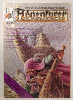 Adventurer Magazine #5, December 1986, by