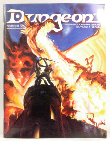 Dungeon Adventures for Tsr Role-Playing Games: September/October 1993 Issue 43/Magazine, by Young, Barbara G.