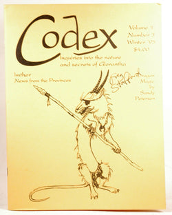 Codex: Inquiries into the Nature and Secrets of Glorantha, by Sandy Petersen, Harald Smith Signed