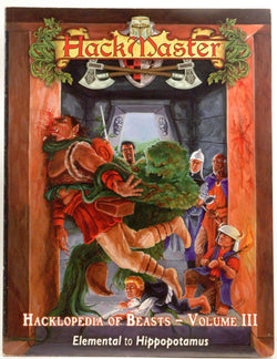 Hackmaster: The Hacklopedia of Beasts, Vol 3, by Team, The Hackmaster Development