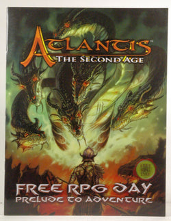 Atlantis The Second Age Prelude to Adventure (Free RPG Day), by