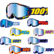 100% Accuri Blue Mirror Lens Goggle 2018