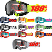 100% Accuri Clear Lens Goggle 2018
