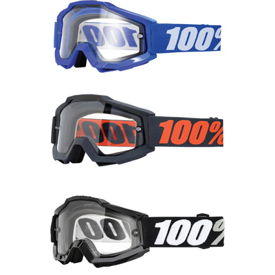 100% Accuri Enduro Goggle Clear lens 2018