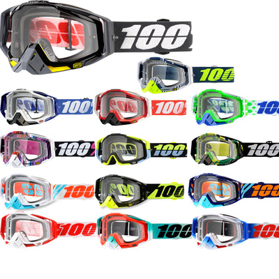 100% Goggle Racecraft Clear Lens 2018