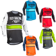 Fly Kinetic Era Moto Jersey 2018