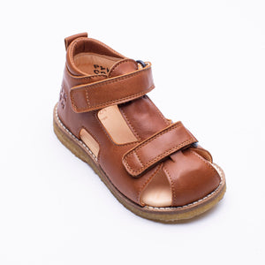 Bernhard Cognac sandals for children Pyk Copenhagen