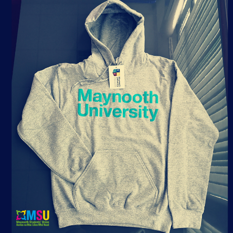 Maynooth University Official Grey Hoodie