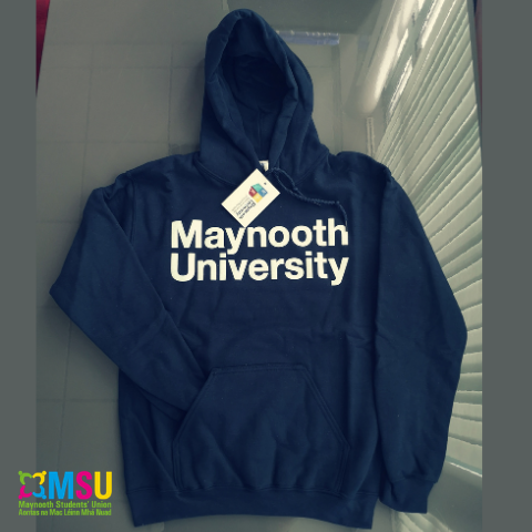 Maynooth University Official Navy Hoodie