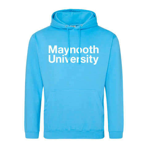Maynooth University Baby Blue Crested Hoodie