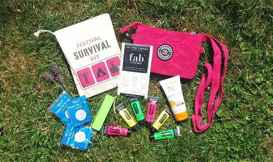 Win our festival survival kit