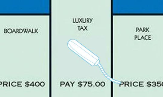 Tampon Tax - a bloody disgrace