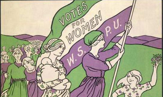 Well done sister suffragettes!
