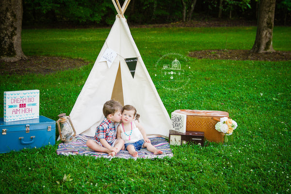 The poles are one piece which is very important for safe uninterrupted play. Unplug your kids with a Tip Top Teepee from The Playhouse Kid!  sc 1 st  The Playhouse Kid & Tip Top Teepees u2013 The Playhouse Kid
