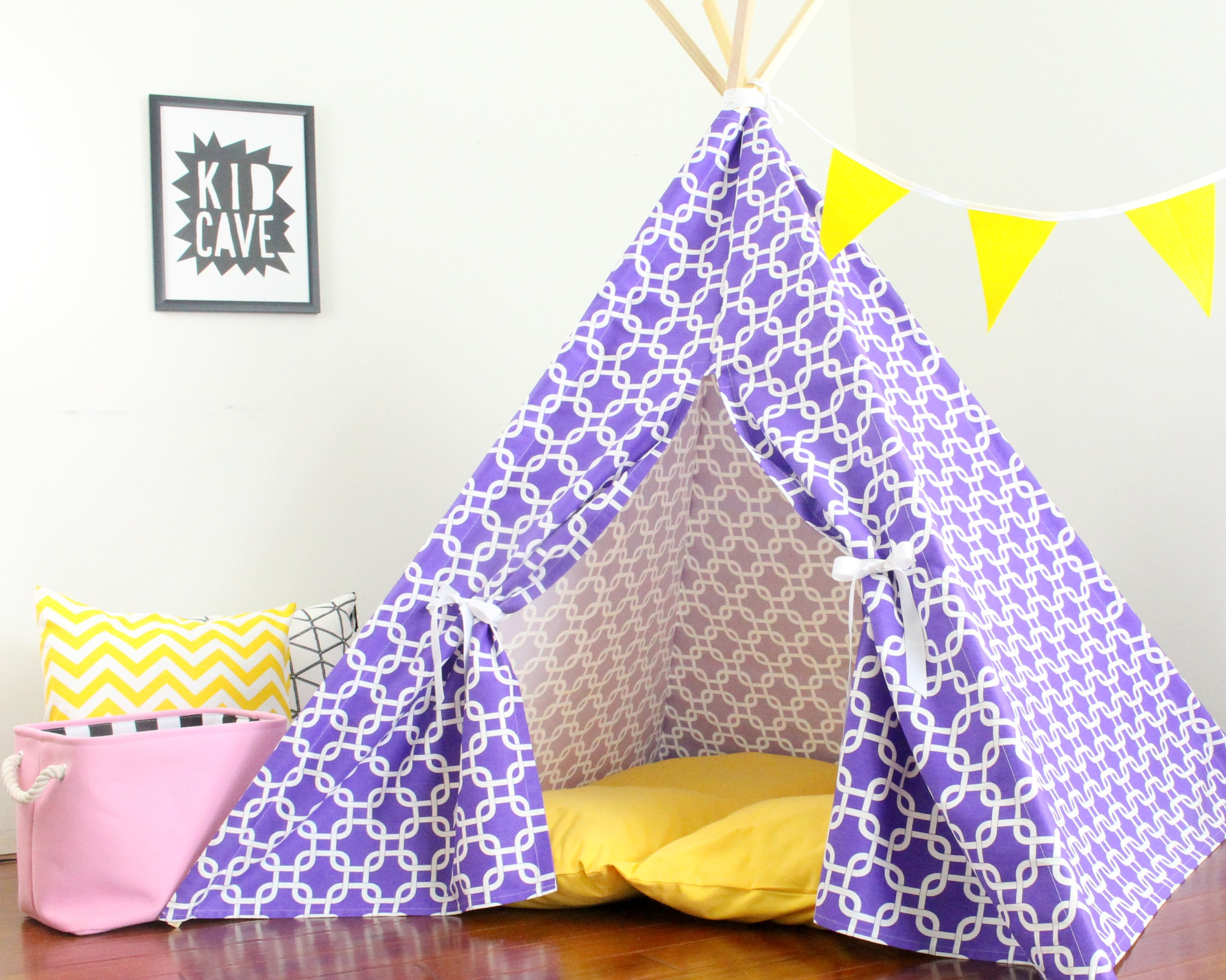 ... Kids Teepee Play Tent Sewing Pattern Suitable for all fabric prints ...  sc 1 st  The Playhouse Kid & Kids Teepee Play Tent Sewing Pattern Suitable for all fabric ...