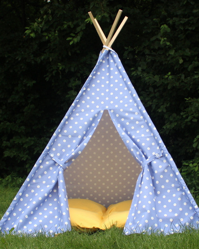 Kids Teepee Play Tent Sewing Pattern, Suitable for all fabric prints ...