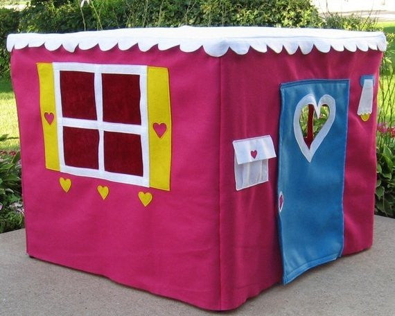 kids card table playhouse
