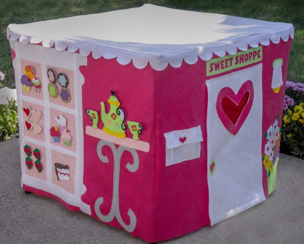 bakery card table playhouse for girls