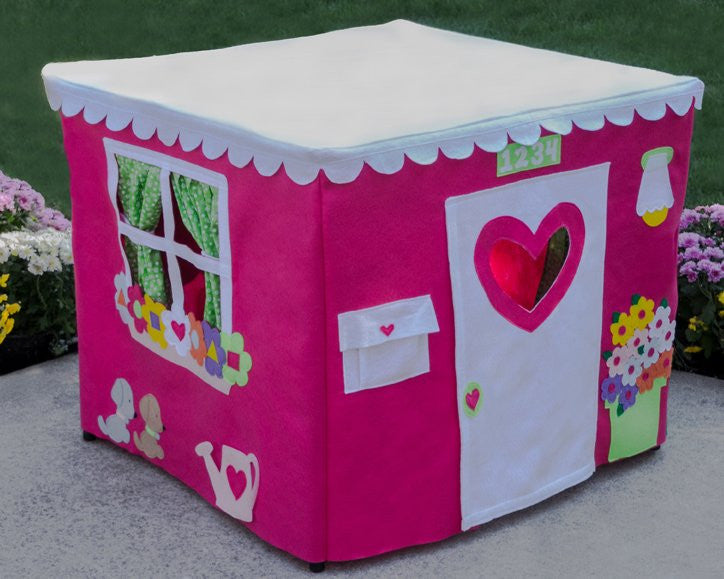 Kids card table playhouse gift for kids