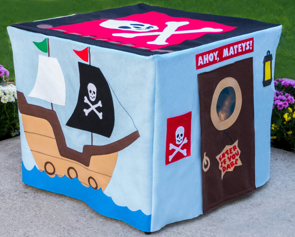 Card Table Playhouse Pirate Adventure