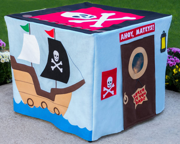 Pirate playhouse for kids
