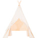 Organic canvas kids teepee