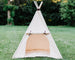 Kids play tent canvas