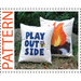 campfire pillow sewing pattern