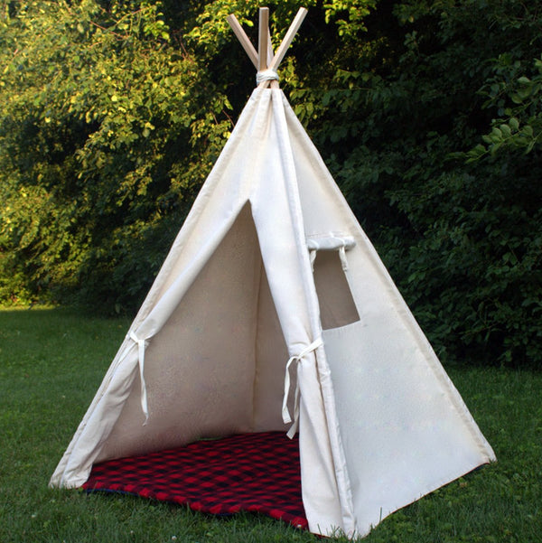 Kids Canvas Play Tent