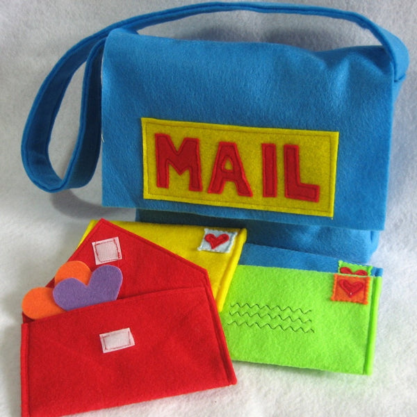 Play Toys - Mail Bag and Working Envelopes