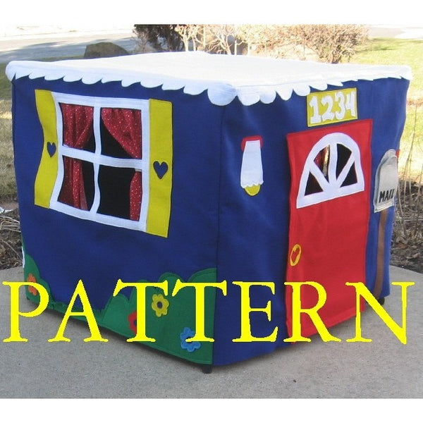 Pattern - Standard Card Table Playhouse