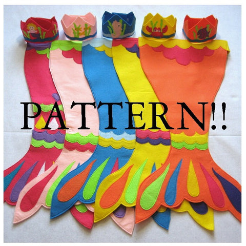 Pattern - Mermaid Costume Pattern