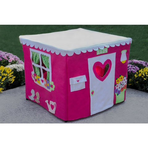 Card Table Playhouse Hot Pink Cottage