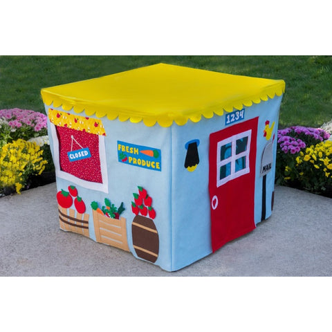 Card Table Playhouse Farm Stand