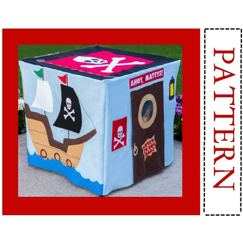 Pattern - Pirate Adventure Card Table Playhouse