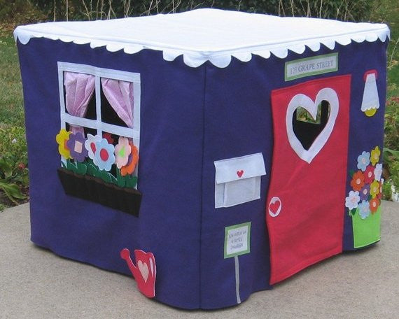 card table playhouse play tent for kids