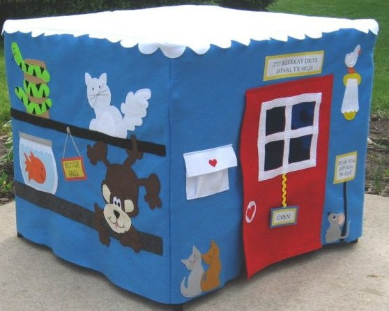Pet Shop Card Table Playhouse