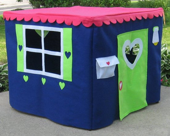 card table playhouse for imaginative play
