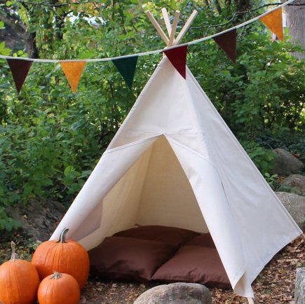 Kids Teepee Tent, Choose From Four Sizes, Can Include a Window