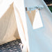Canvas Play Teepee Tent for Kids, Four Sizes Available, Can Include Window