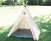 Kids canvas teepee tent