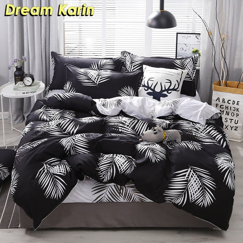 Nordic Simple Bedding Set - Duvet Cover Set