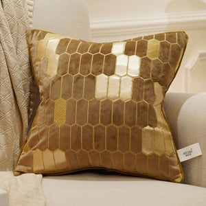 Avigers Embroidery Velvet Cushion Luxury Cover